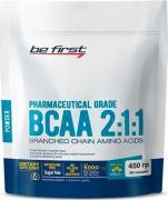 спортивное питание Be First BCAA 2:1:1 Classic powder, аминокислоты 450 г