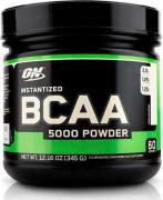 Спортивное питание Optimum Nutrition BCAA 5000 powder, аминокислоты 335 г