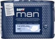Seni Прокладки для мужчин Man Normal, 21,5x28см, 15шт