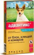 Bayer Капли для собак АДВАНТИКС от блох, клещей и комаров 100 1 пипетка в упак