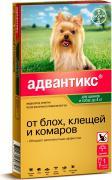 Bayer Капли для собак АДВАНТИКС от блох, клещей и комаров 40 1 пипетка в упак