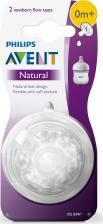 Philips Avent Соска Natural SCF041 / 27 2 шт 0мес+ – фото 2