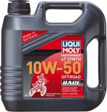 Моторное масло Liqui Moly Motorbike 4T Synth Offroad Race 10W-50 4 л