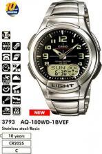 Мужские наручные часы Casio AQ-180WD-1B – фото 1