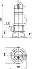 Погружной дренажный насос Grundfos Unilift AP 35B.50.06.A1.V – фото 2