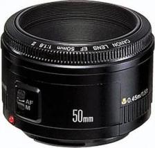 Объектив Canon EF 50mm f/1.8 II – фото 2