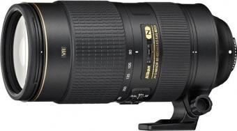 объектив Nikon 80-400mm f/4.5-5.6G ED VR AF-S Zoom-Nikkor